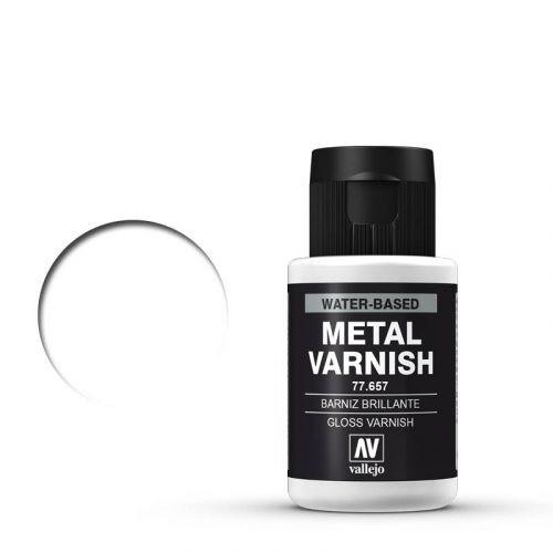 Vallejo Metal Color Gloss Metal Varnish 60 ml