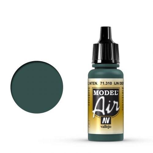 Vallejo Model Air: 71310 IJN Deep Dark Green 17ml