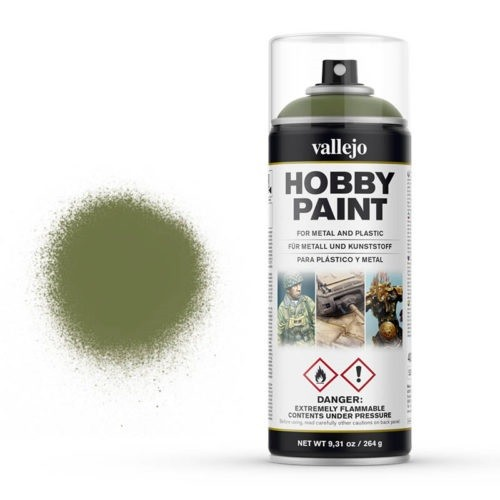 Vallejo Hobby Paint Spray Goblin Green (400ml.)