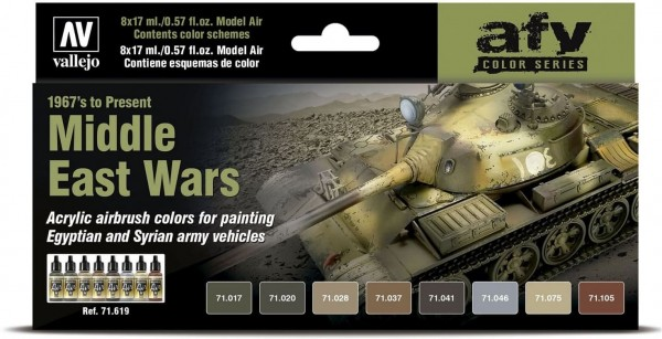 Model Air: Middle East Wars (1967's to Present) - AFV Series