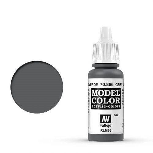 Vallejo Model Color: 165 Graugrün (Grey Green), 17 ml (866)