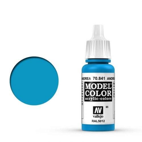 Vallejo Model Color: 065 Andrea Blau (Andrea Blue), 17 ml (841)