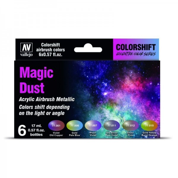 Vallejo Shifters Set - Magic Dust (6x 17ml)