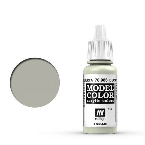 Vallejo Model Color: 110 Achatgrau (Deck Tan), 17 ml (986)