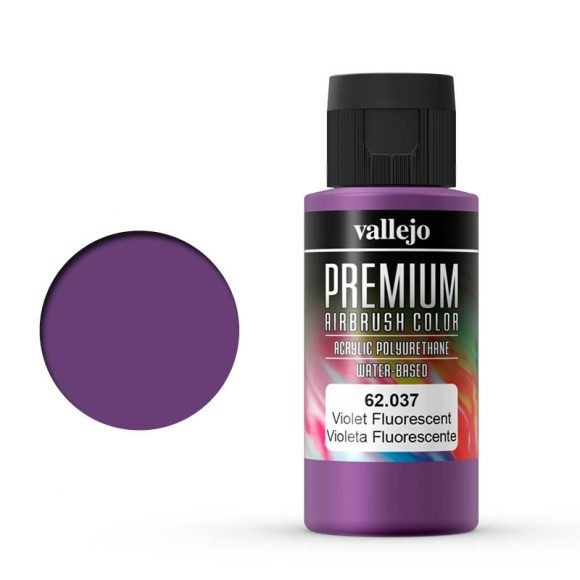 Vallejo Premium: Violet Fluo (Polyu.) (60ml)