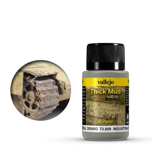 Vallejo Weathering Effects Thick Mud Industrial 40 ml