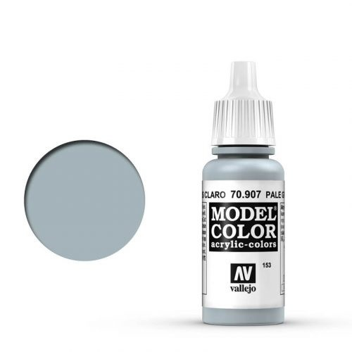 Vallejo Model Color: 153 Hell Blaugrau (Pale Greyblue), 17 ml (907)
