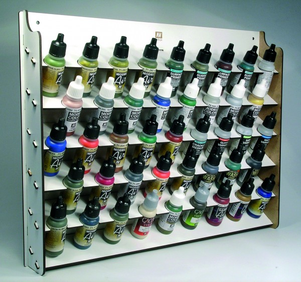 Vallejo Model Color: Vallejo Wall Mounted Paint Display (17ml.)