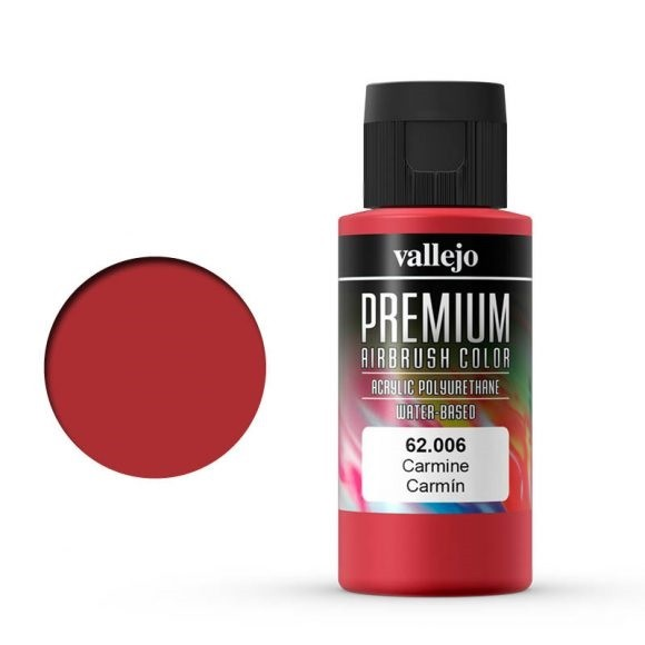 Vallejo Premium: Carmine (Polyu.) (60ml)