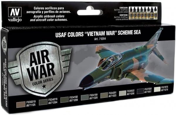 "Model Air: Model Air Set USAF Colors ""Vietnam War"" Scheme SEA (8)"