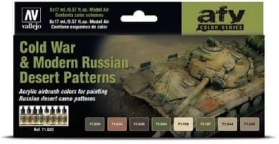 Model Air: Cold War & Modern Russian Desert Patterns - AFV Series
