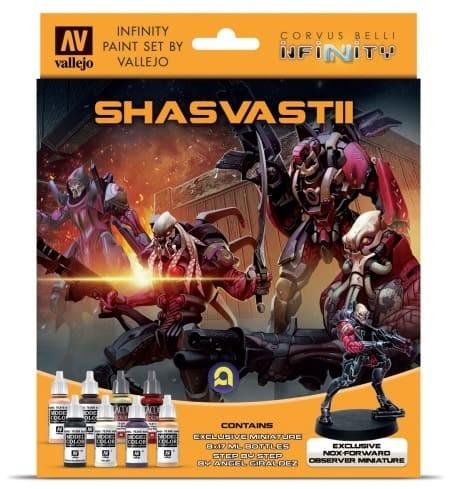 Vallejo Model Color: Infinity Shasvastii Exclusive Miniature Paint Set