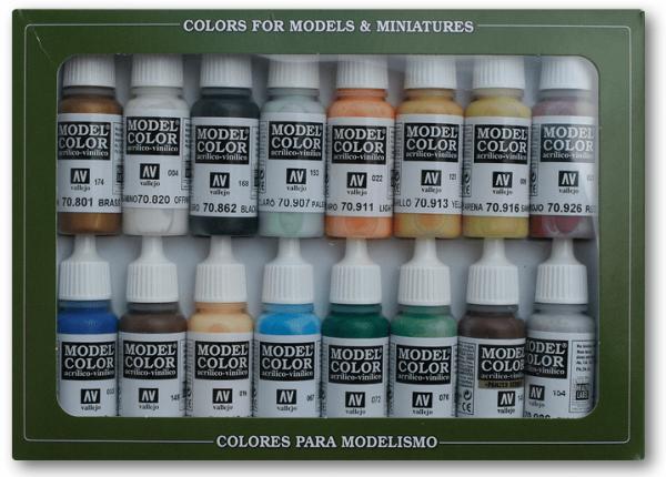 Vallejo Model Color: Set Naval (Steam Era) Colors (16 Farben)