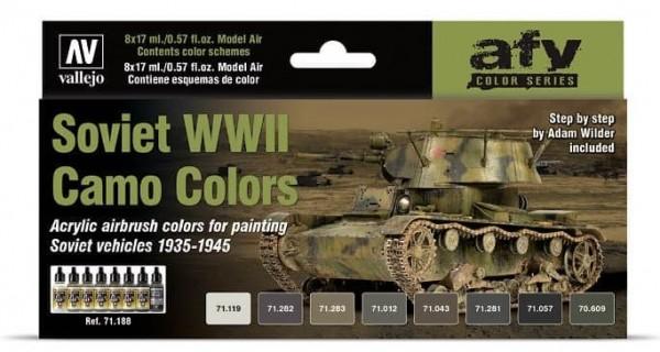 Model Air: Model Air Set Soviet WWII Camo Colors (8)