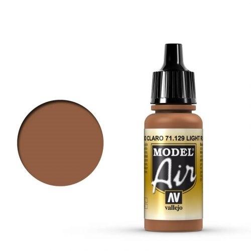 Vallejo Model Air: 71129 Light Rust 17 ml