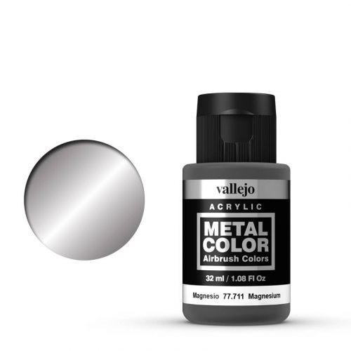Vallejo Metal Color 711 Magnesium 32 ml.