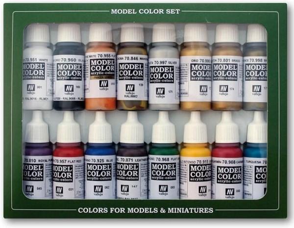 Vallejo Model Color: Set Imperial Rome Colors (16 Farben)