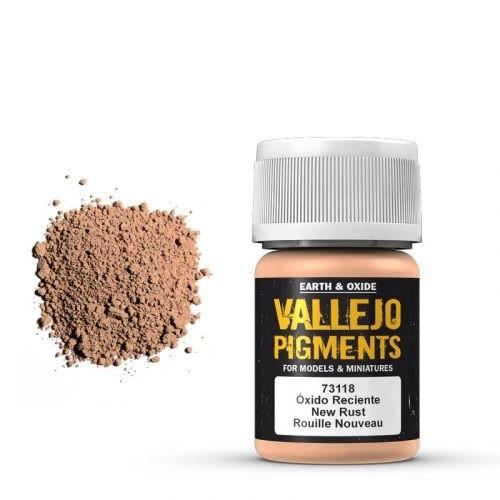 Vallejo Pigment Fresh Rust 30ml