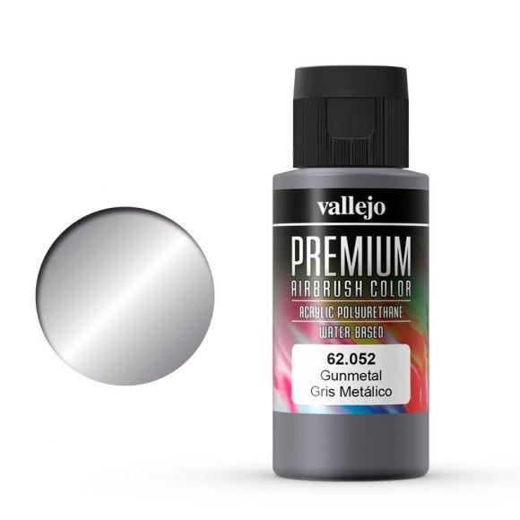 Vallejo Premium: Gunmetal (Polyu.) (60ml)