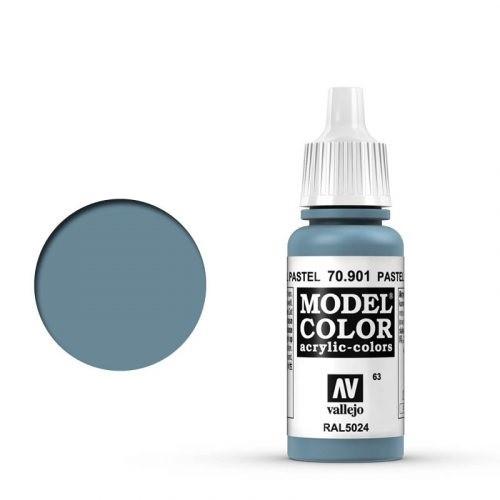 Vallejo Model Color: 063 Pastelblau (Pastel Blue), 17 ml (901)