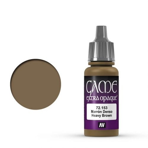 153 Extra Opaque Heavy Brown 17 ml