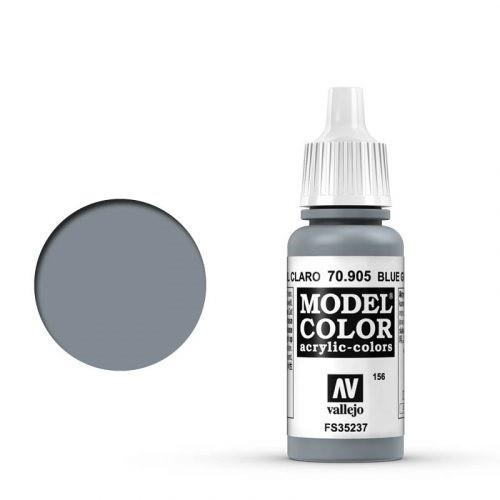 Vallejo Model Color: 156 Blaugrau Hell (Bluegray Pale), 17 ml (905)
