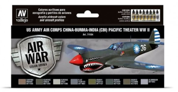 Model Air: Model Air Set US Army Air Corps China-Burma-India Pacific T.
