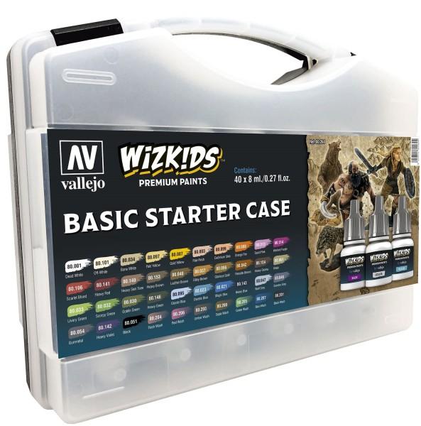 Vallejo Wizkids Premium Paints Basic Starter Case