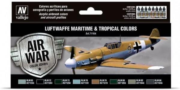 Model Air: Model Air Set Luftwaffe Maritime and Tropical colors (8)