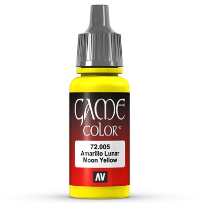 Vallejo Game Color: 005 Bald Moon Yellow, 17 ml