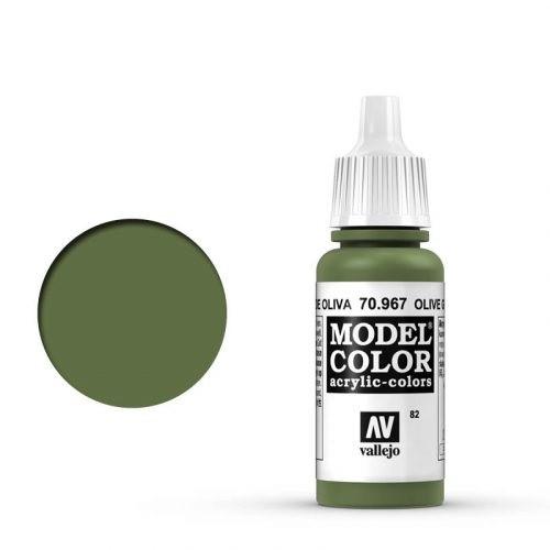Vallejo Model Color: 082 Olivgrün Hell (Olive Green), 17 ml (967)