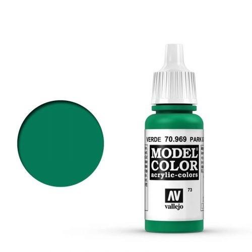 Vallejo Model Color: 073 Türkisgrün (Park Green Flat), 17 ml (969)
