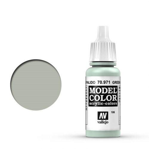 Vallejo Model Color: 106 Pastelolivgrün (Grey Green), 17 ml (971)