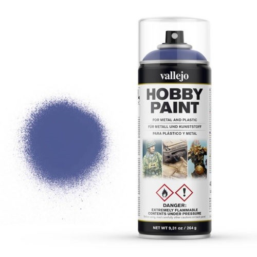 Vallejo Hobby Paint Spray Ultramarine Blue (400ml.)