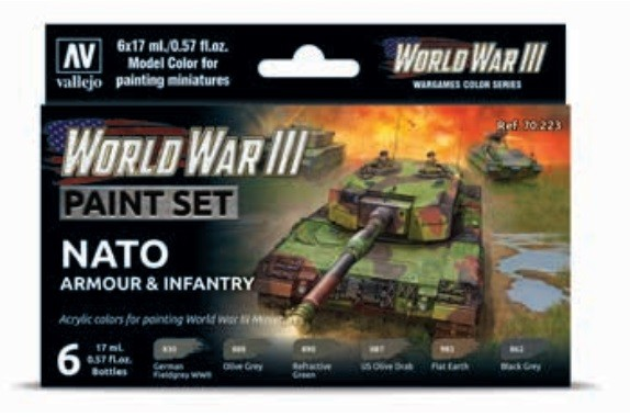 Vallejo Model Color: Model Color: WWIII NATO Armour & Infantry