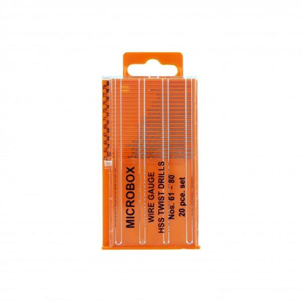 Vallejo Tool Microbox drill set (20) 61-80