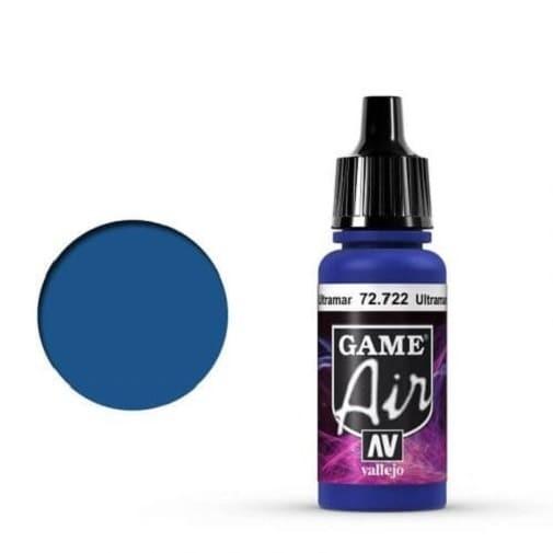 Vallejo Game Air 722 Ultramarine Blue, 17 ml