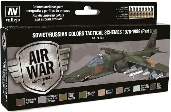 Model Air: Model Air Set Soviet / Russian colors Tactical Schemes 2 (8)