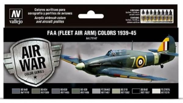 Model Air: Model Air Set RAF & FAA Fleet Air Arm 1939-45 (8)