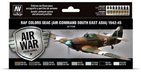 Model Air: Model Air Set RAF & FAA SEAC South East Asia 1942-45 (8)