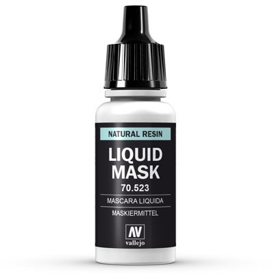 Vallejo Model Color: 197 Maskiermittel (Liquid Mask), 17 ml (523)