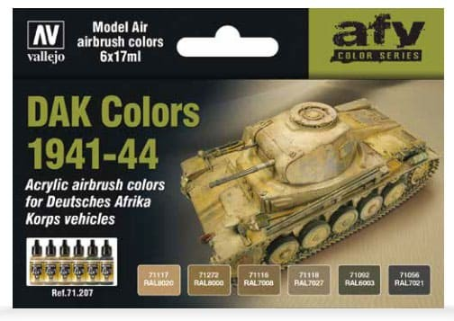Model Air: Model Air Set DAK Colors 1941-44