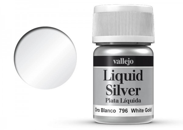 Vallejo Model Color: 217 Weissgold (White Gold), 35 ml (796)