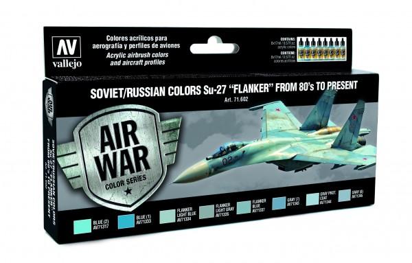 "Model Air: Model Air Set Soviet / Russian colors Su-27 ""Flanker"" fr (8)"