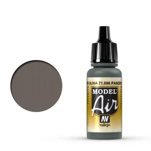 Vallejo Model Air: 096 Olive Grey, 17 ml