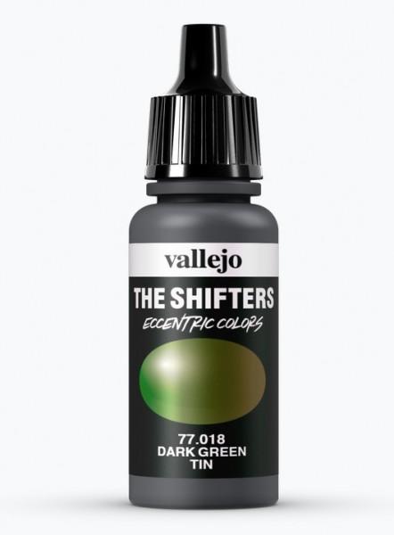 Vallejo Shifters 018 - Dark Green Tin 17ml