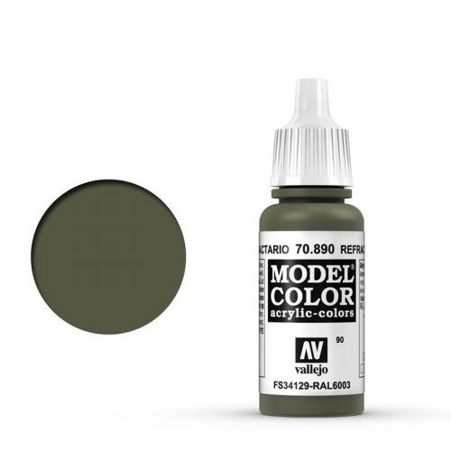Vallejo Model Color: 090 Olivgrün (Reflective Green), 17 ml (890)