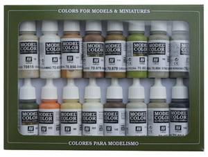 Vallejo Model Color: Set Earth Colors (16 Farben)