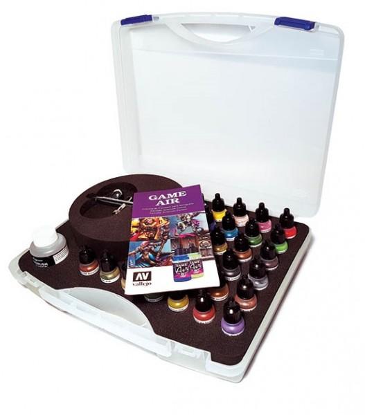 Basic Game Air Colors & Airbrush Koffer Set