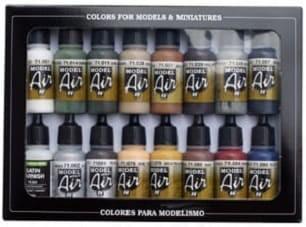 Model Air: Model Air Set Railway Colors Set (16)